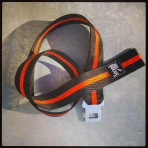 Orange stripe Strap